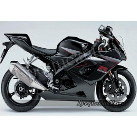 Kit autocollants Suzuki GSX-R 1000 2006 version noir