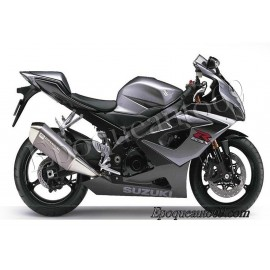 Autocollants stickers Suzuki GSX-R 1000 2006 version noir / gris