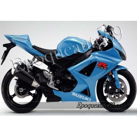 Kit autocollants stickers Suzuki GSX-R 1000 2008 version bleu