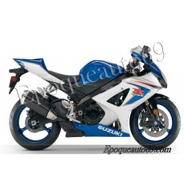 Kit autocollants stickers Suzuki GSX-R 1000 2008 version blanc