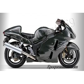 Autcollants stickers Suzuki Hayabusa 2004 version noir