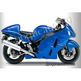 Suzuki Hayabusa 2007 version bleu