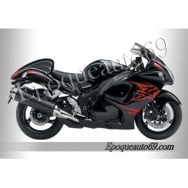 Suzuki Hayabusa 2010 version noir / rouge