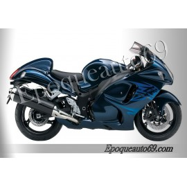 Suzuki Hayabusa 2010 version bleu