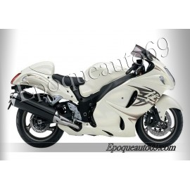 Suzuki Hayabusa 2011 version blanc