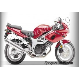 Autocollants stickers Suzuki SV 650 2006 Version rouge