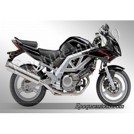Autocollants stickers Suzuki SV 650 S 2003 Version Argent
