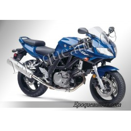 Autocollants stickers Suzuki SV 650 S 2004 Version bleu
