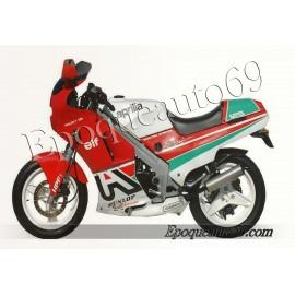 Autocollants stickers Aprilia AF1 125 reggiani année 1988