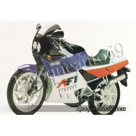 Kit autocollants stickers Aprilia AF1 125 sintesi project 108 année 1988