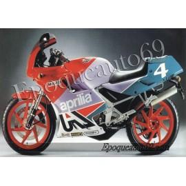 Kit autocollants stickers Aprilia AF1 125 reggiani année 1988