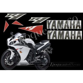Yamaha YZF-R1 2010 version blanc