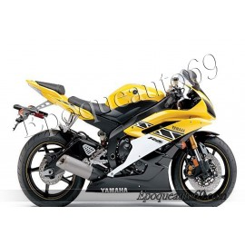 Autocollants stickers Yamaha YZF-R6 2006 - version 50 eme anniversaire
