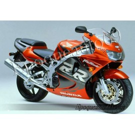 Honda CBR 919RR 1998 - version orange / gris