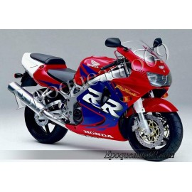 Honda CBR 919RR 1998 - version rouge / violet
