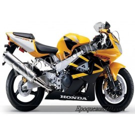 Autocollants stickers Honda CBR 929RR 2001 - version jaune