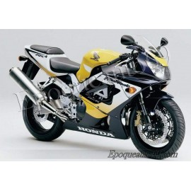 Autocollants stickers Honda CBR 929RR 2000 - version jaune