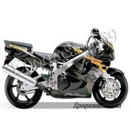Autocollants stickers Honda CBR 929RR 2001 - version rouge/blanc