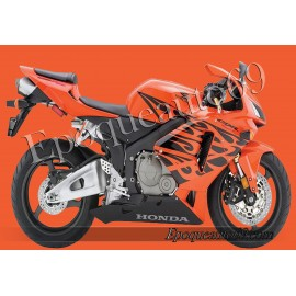 Honda CBR 600RR 2005 - version tribal orange
