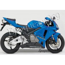 Autocollants stickers Honda CBR 600RR 2006 - version argent