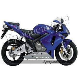 Autocollants stickers Honda CBR 600RR 2003 - version bleu