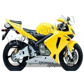 Autocollants stickers Honda CBR 600RR 2003 - version jaune