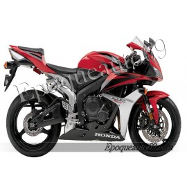 Autocollants stickers Honda CBR 600RR 2007 - version rouge