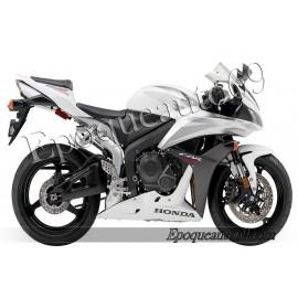 Honda CBR 600RR 2007 - version blanc / noir / argent