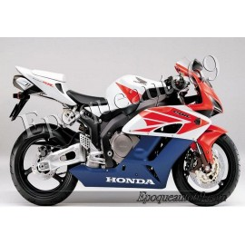 Honda CBR 1000RR 2004 - version blanc / rouge /bleu