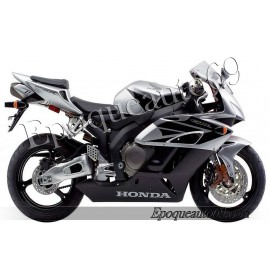 Autocollants stickers Honda CBR 1000RR 2004 - version Gris