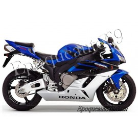 Autocollants stickers Honda CBR 1000RR 2004 - version Argent