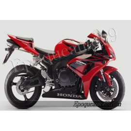 Autocollants stickers Honda CBR 1000RR 2007 - version rouge noir