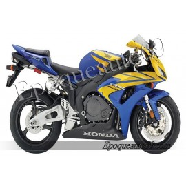 Autocollants stickers Honda CBR 1000RR 2006 - version argent