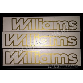 Autocollants stickers renault clio williams
