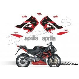 Autocollants Aprilia rs 125 année 2009