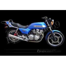 Kit autocollants Stickers complet honda cb 900 f bol d'or moto bleue