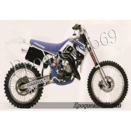 Autocollants stickers WMX 250cc année 1989