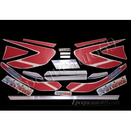 Autocollants Stickers yamaha super tenere xtz 750 de 1993
