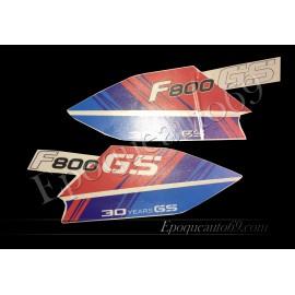 Kit autocollants -stickers bmw 800 gs 30eme anniversaire