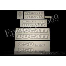 Autocollants Stickers Ducati 750 SS 1992