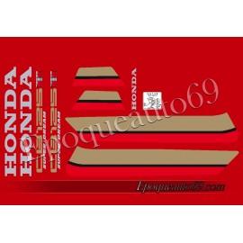 Autocollants stickers Honda - CB 125 TDC/TDE Superdream 82-87