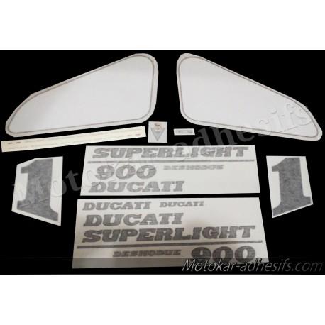 Autocollants stickers 900 Superlight (2)