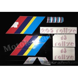 Autocollants stickers complet 205 rallye