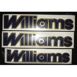 Autocollants stickers renault clio williams phase 2