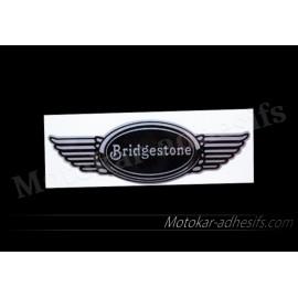 Autocollant sticker aile Bridgestone