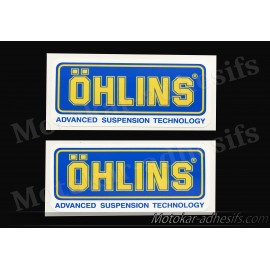 2 autocollants stickers ÖHLINS