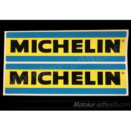 2 autocollants Michelin