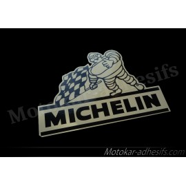 Autocollant BIB drapeau Michelin