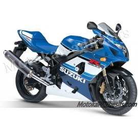 Autocollants - stickers Suzuki GSX-R 600 2005 version 20eme Anniversaire