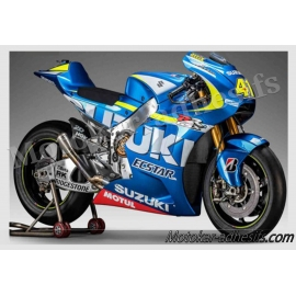 Autocollants - stickers Suzuki gsxr moto grand prix 2015